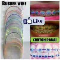 Kawat Behel, Plastic Wire, Fashion Plastik Rubber