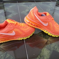Sepatu Nike Air Max Orange size 43-44(fit size 42-43) kw super Import