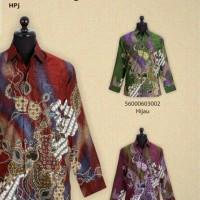 kemeja batik/batik premium/batik sutra/baju sutra/eksklusif/jogja