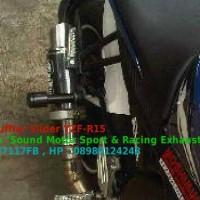 Jual Muffler/exhaust slider universal bisa untuk semua motor Murah