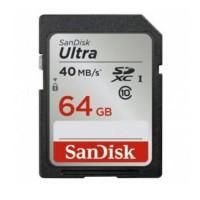 SanDisk Ultra SDXC Card UHS-I Class 10 (40MB / S) 64 GB