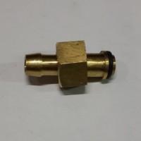 Nipple Couple (B) drat dalam/ Nepel Mur Lepas 1/4 x 5/16 (Kompressor)