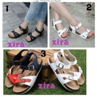 sandal sepatu wanita crocs flipflop zira