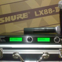 Shure wireless microphone LX88-III