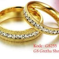 cincin nikah ,pasangan dan titanium asli