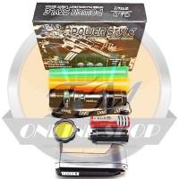 harga Senter Police Swat C2 Double Lalin Led Zoom Q5 Power Style 99000 Watt Tokopedia.com