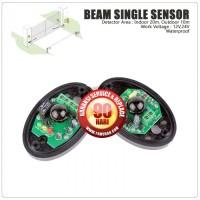 Beam Single Sensor 10m - 20m, Wired, ( Unit Tambahan GSM alarm 433Mhz)