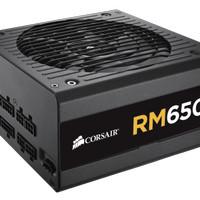 Corsair RM650 (CP-9020054-EU) (Fully Modular, 80 Plus Gold Certified)
