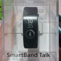 harga Sony SmartBand Talk - Jam Tangan Unisex - Hitam - Strap Rubber - SWR30 Tokopedia.com