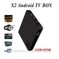 Android TV BOX X2 Quad Core XBMC H.265 Decoding