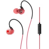 MEElectronics Sport-Fi In-Ear Memory Wire Micrphone M3P Pink