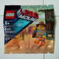 Lego Movie WESTERN EMMET Minifigure Polybag