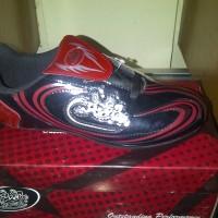 Sepatu Futsal, Mogul FS 508 Black Red