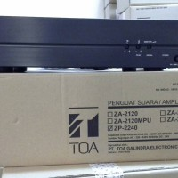 harga Power Amplifier Toa Zp-2240 - 240 Watt Tokopedia.com