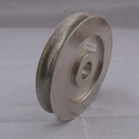 Diamond Wheel Bodi Besi 6 Inch Cekung 12mm CNO