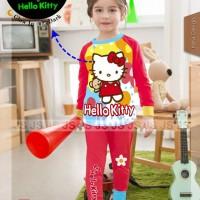 Baju Setelan Piyama Anak Perempuan Js 5 Hk Hello Kitty Glow In Dark