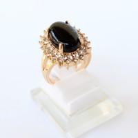 harga Cincin Batu Onyx Xuping Gold Lapis Emas - Full Permata Tokopedia.com