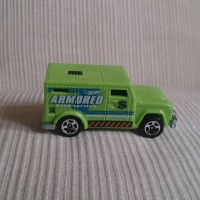 hot wheels loose armored truck
