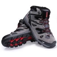 harga Sepatu Gunung/Hiking/Boot/Outdoor SNTA 463 Grey/Red Tokopedia.com
