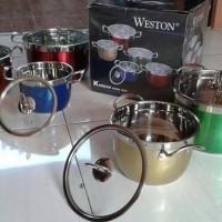 harga Panci Set Rainbow Weston High Pot (w1x-rc5) Tokopedia.com