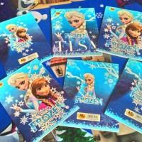 Buku Tulis Frozen