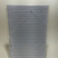 Refill Notes Organizer Lubang 6 ukuran A5