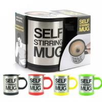 Jual Self Stirring Mug Blender - Gelas Putar Unik Ajaib Bisa Aduk Sendiri Murah