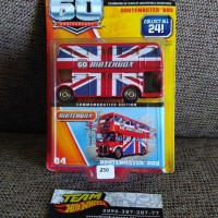 MATCHBOX 60 ANNIVERSARY ENGLAND ROUTEMASTER BUS (LIMITED EDITION)