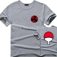 Uchiha Klan -Saringan Logo T shirt Kaos