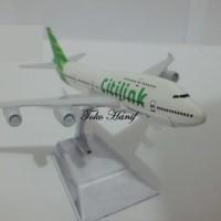 Diecast Miniatur Replika Pesawat Citilink I