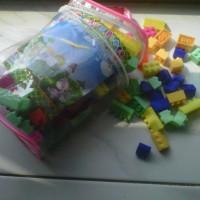 Mainan Edukasi Block Kreatifitas (bongkar pasang)