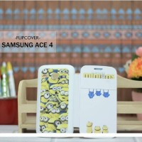 Casing HP Custom Flipcover Samsung Ace 4