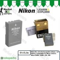 Battery Nikon EN-EL9a/ENEL9a for Nikon D40, D40X, D60, D3000, D5000