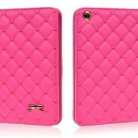 harga Casing Ipad 1 2 3 Ipad Mini Case Soft Leather With Stand - Pink Polos Tokopedia.com