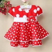 Dress Little Cai ~ Red Big Polka
