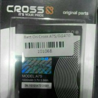 Baterai/batrai/bateray/batre Cross/evercoss A7s Ori 99%