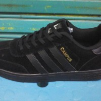 harga Paling Murah Sepatu Adidas Campus Full Black Tokopedia.com
