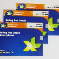 KARTU PERDANA XL 4G (SIM CARD, MICRO SIM, NANO SIM