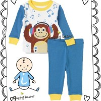 PAJAMAS JUMPING BEANS MONKEY MUSIC-RSBY-1209