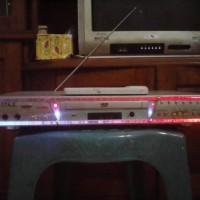 VCD Player Bekas + Remote Control + Dashbox (Kotak Kardus Tempat)