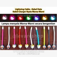 harga Kabel Data Charge Nyala-boneka Hello Kitty Doraemon-iphone/samsung/dll Tokopedia.com