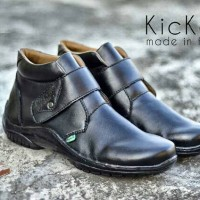 harga sepatu boot pria kickers prepet black Tokopedia.com