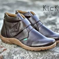 harga Sepatu Boots Pria Kickers Prepet Brown Tokopedia.com