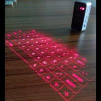 Jual Keyboard phone Virtual Laser Projection Bluetooth  Black Murah