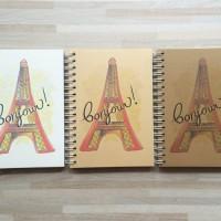 Bonjour ! Sketch Book Cocok untuk Menggambar