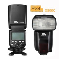 Pixel X800C E-TTL High Speed GN60 Flashgun For Canon Cameras