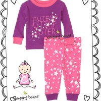 PAJAMAS JUMPING BEANS CUTEST LITTLE SISTERS-RSBY-1204