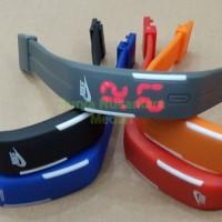 Jam Tangan Led Magnet Nike Puma Adidas - Warna Warni