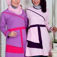 Rahnem Blus 1315 / Baju Atasan Muslim Blouse Original Rahnem