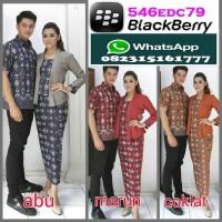 COUPLE Setelan Rok and blus Batik CARMELIA